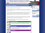 View More Information on Metal Apparel Repairs & Sales
