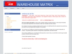 View More Information on Warehouse Matrix