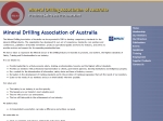View More Information on Mineral Drilling Association of Australia