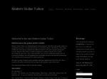 View More Information on Modern Guitar Tuition