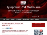 View More Information on Tyrepower, Port Melbourne