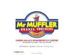View More Information on Mr Muffler, Lilydale