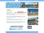 View More Information on Mykonos Absolute Beachfront Apartments