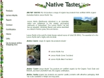 View More Information on Native Tastes