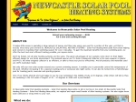 View More Information on Newcastle Solar Pool Heating Systems