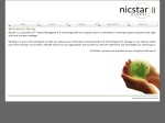 View More Information on Nicstar Telecommunications & Project M'ment