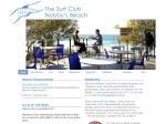 View More Information on Nobby's Beach SLSC Supporters Club