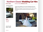 View More Information on Northern Classic Wedding Car Hire