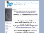 View More Information on NSW Smallbore & Air Rifle Association Inc
