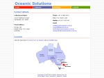 View More Information on Oceanic Solutions (Defence Consultant) Pty Ltd