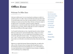 View More Information on Office Zone