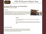 View More Information on Old Willyama Hotel