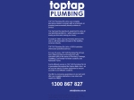 View More Information on On Tap Plumbing Pty Ltd