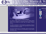 View More Information on Orr Martin & Waters