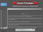 View More Information on Oranom Technologies