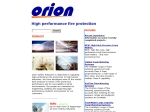 View More Information on Orion Safety Industries Pty Ltd