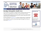 View More Information on Bendigo Osteopathic Health Care