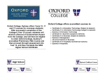 View More Information on Oxford College