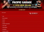 View More Information on Pacific Garage, Ballina