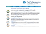 View More Information on Pacific Resources International Pty Ltd, Narre warren