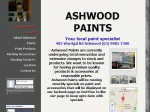 View More Information on Ashwood Paints