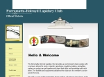 View More Information on Parramatta Holroyd Lapidary Club