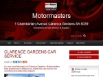 View More Information on Motormasters, Clarence Gardens