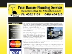 View More Information on Peter Damaso Plumbing Services
