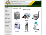 View More Information on PHE Paper Handling Equipment Pty Ltd, Morningside