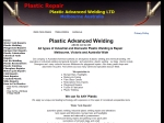 View More Information on Plastic Advanced Welding