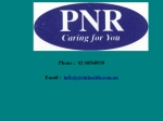 View More Information on PNR Home Nursing & Health Care Services