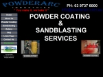 View More Information on Powderarc Industries