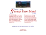View More Information on Prompt Sheet Metal Pty Ltd