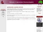 View More Information on Queensland Cleaning Supplies
