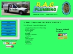 View More Information on R.A.C. Plumbing