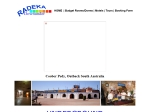 View More Information on Radeka Downunder Motel & Underground Backpackers Inn