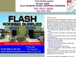 View More Information on Flash Roofing Supplies