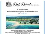 View More Information on Reef Resort Apartments