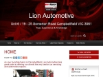 View More Information on Lion Automotive, Campbellfield
