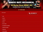 View More Information on Miners Mate Mechanical, Mt Isa