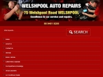 View More Information on Welshpool Auto Repair