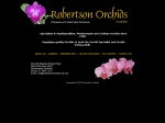 View More Information on Robertson Orchids