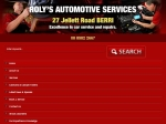 View More Information on Roly's Automotive Services, Berri