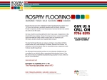 View More Information on Rospry Flooring Pty Ltd