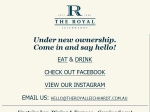 View More Information on Royal Hotel Leichardt