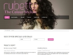 View Rubette Hairdressing website