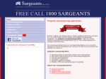View More Information on Sargeants-Port Phillip