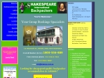View More Information on Adelaide's Shakespeare Backpackers International Hostel
