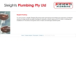 View More Information on Sleights Plumbing Pty Ltd