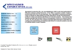 View More Information on Specialised Conductives Pty Ltd